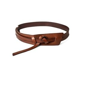 NWT WD Messy Knot Belt Leather Mossimo Supply Co.